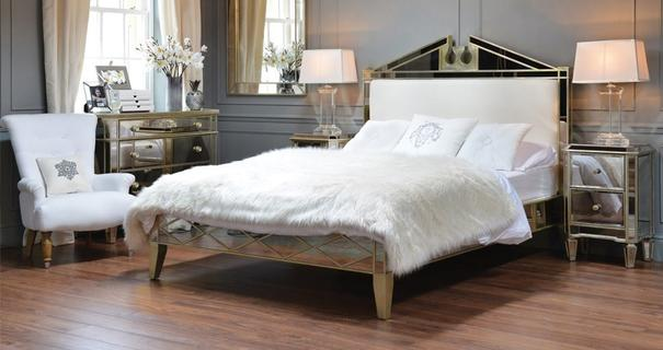 Kingsize Mirrored Bed image 3