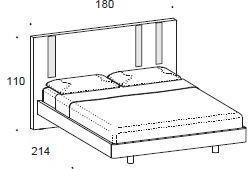 Murano bed image 2
