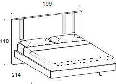 Murano bed image 3