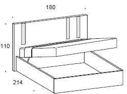 Murano storage bed image 2