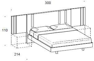 Murano wing bed image 2