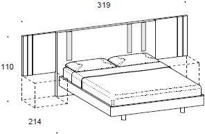 Murano wing bed image 3
