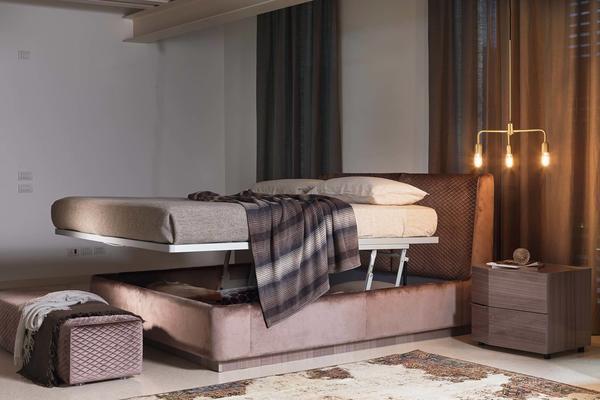 Elysee Crono (King) storage bed image 2