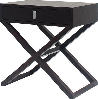 Curio Wenge Oak Side/Bedside/End Table