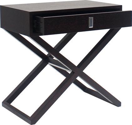 Curio Wenge Oak Side/Bedside/End Table image 3