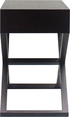 Curio Wenge Oak Side/Bedside/End Table image 4