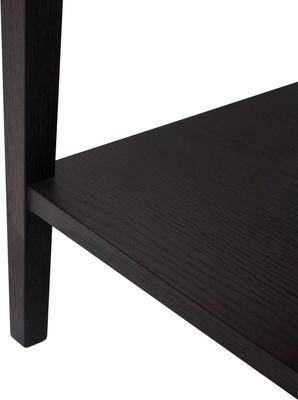 Sina Wenge Oak Bedside Table with Drawer image 3