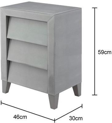 Shagreen Bedside Table image 2