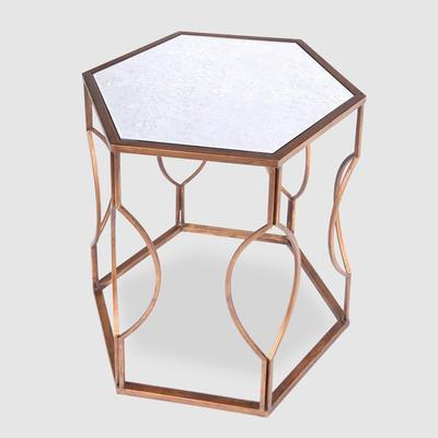 Hexagonal Bedside Table image 5