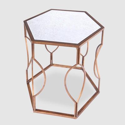 Hexagonal Bedside Table image 5