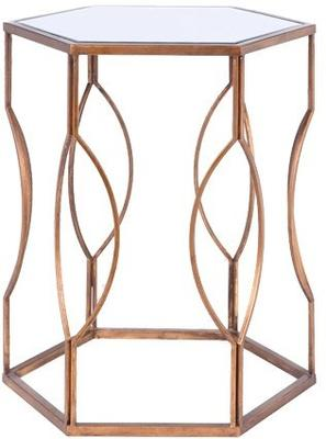 Hexagonal Bedside Table image 6