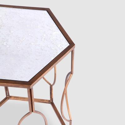 Hexagonal Bedside Table image 7