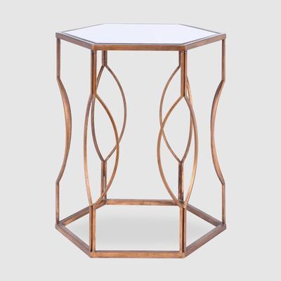 Hexagonal Bedside Table image 8