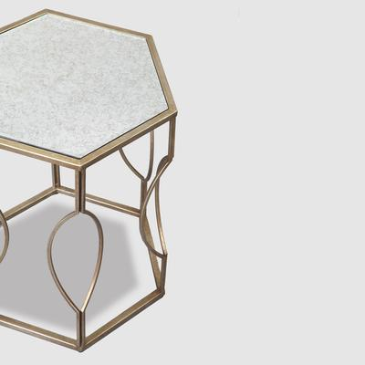 Hexagonal Bedside Table image 12