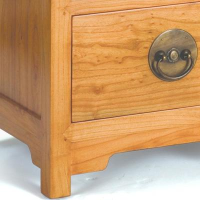 Ming Two Drawer Chest in Light Elm image 3