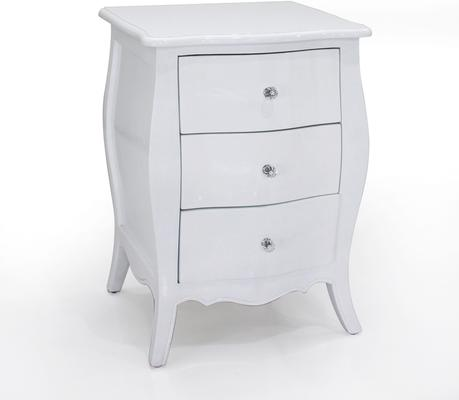 Felicienne Three Drawer Bedside Table image 6