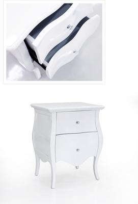 Clemence Two Drawer Bedside Table image 2