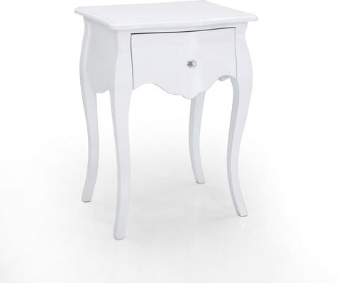 Mariette Single Drawer Bedside Table