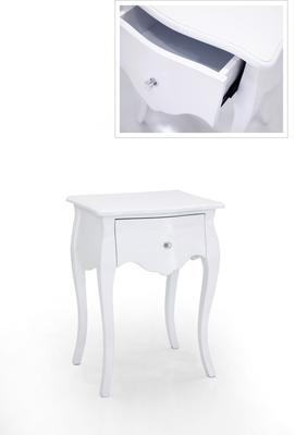 Mariette Single Drawer Bedside Table image 2