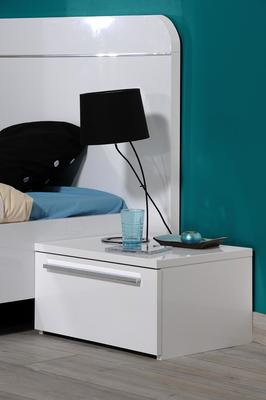 First 1 drawer bedside table image 5