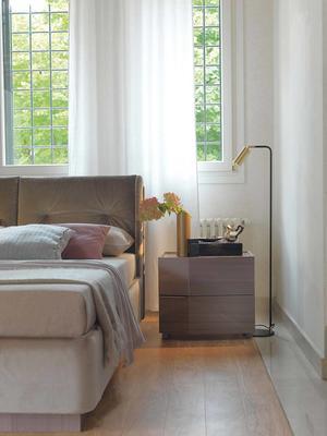 Elysee 2 drawer bedside table image 2