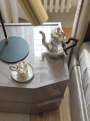 Elysee 2 drawer bedside table image 3