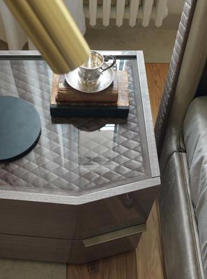 Elysee 2 drawer bedside table image 4