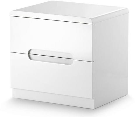 Brooklyn 2 drawer bedside chest