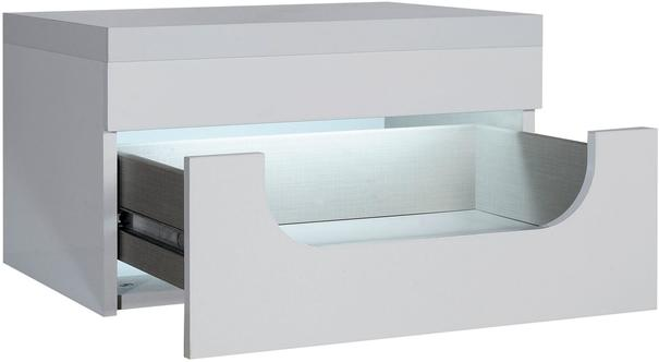 Opus 1 drawer bedside table (with lighting) image 3