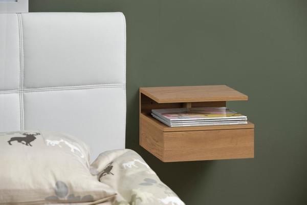 Ashlen (Oak) bedside table image 5