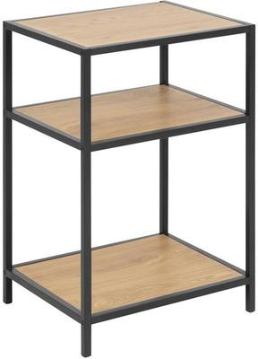 Seafor bedside table with 2 shelves