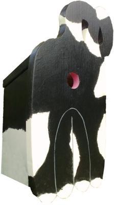 Handmade Cat's Rear Bird Box image 2