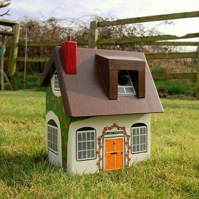 Handmade Cottage Bird Box