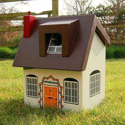 Handmade Cottage Bird Box image 2