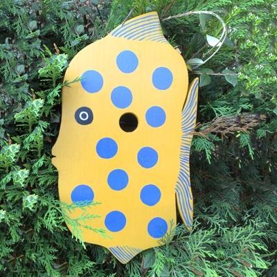 Handmade Fish Bird Box