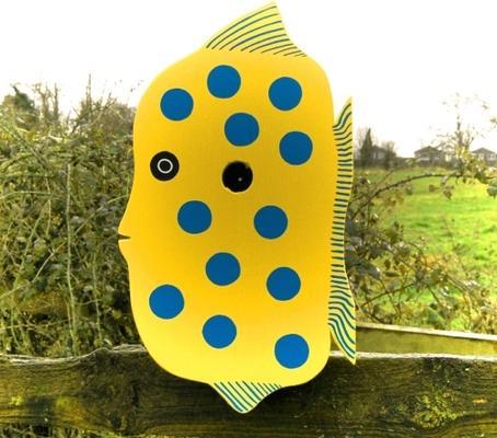 Handmade Fish Bird Box image 3