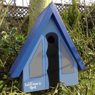 Handmade Tent Bird Box image 2