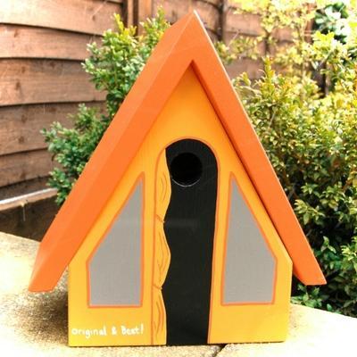 Handmade Tent Bird Box image 3