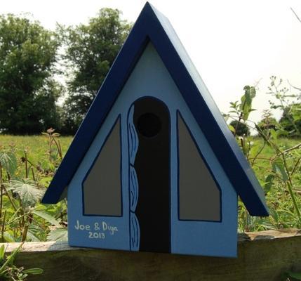 Handmade Tent Bird Box image 4