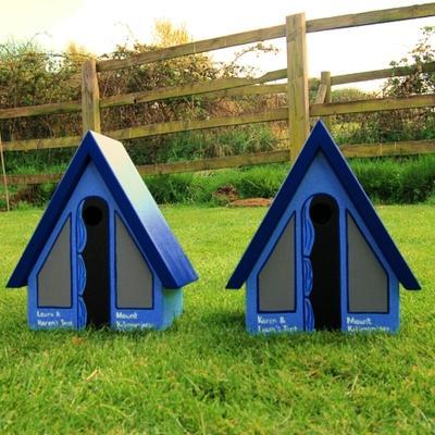 Handmade Tent Bird Box image 6