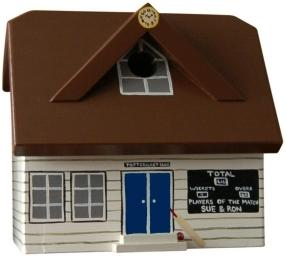 Handmade Cricket Pavilion Bird Box image 3