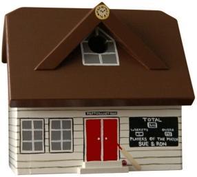 Handmade Cricket Pavilion Bird Box image 4