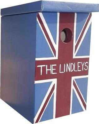 Handmade Union Jack Bird Box image 2