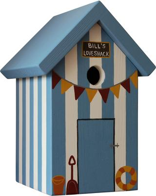 Handmade Beach Hut Bird Box image 4