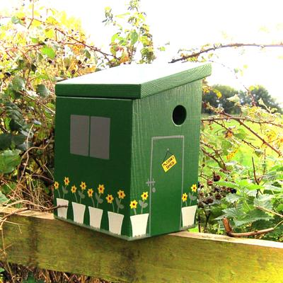 Handmade Garden Shed Bird Box
