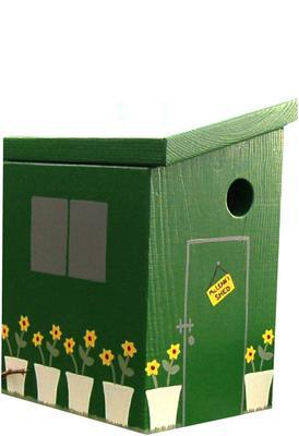 Handmade Garden Shed Bird Box image 2