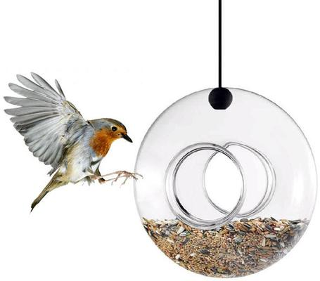 Eva Solo Hanging Bird Feeder Spherical Design