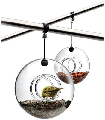 Eva Solo Hanging Bird Feeder Spherical Design image 2