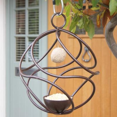 Tangle Hanging Steel Bird Feeder