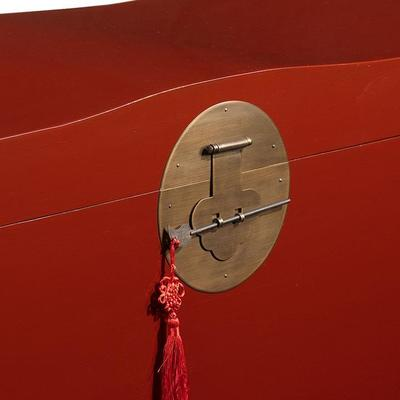 Wave Trunk, Red Lacquer image 2